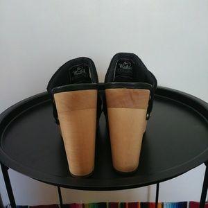 Woolrich Shoes - Woolrich platform mule clogs